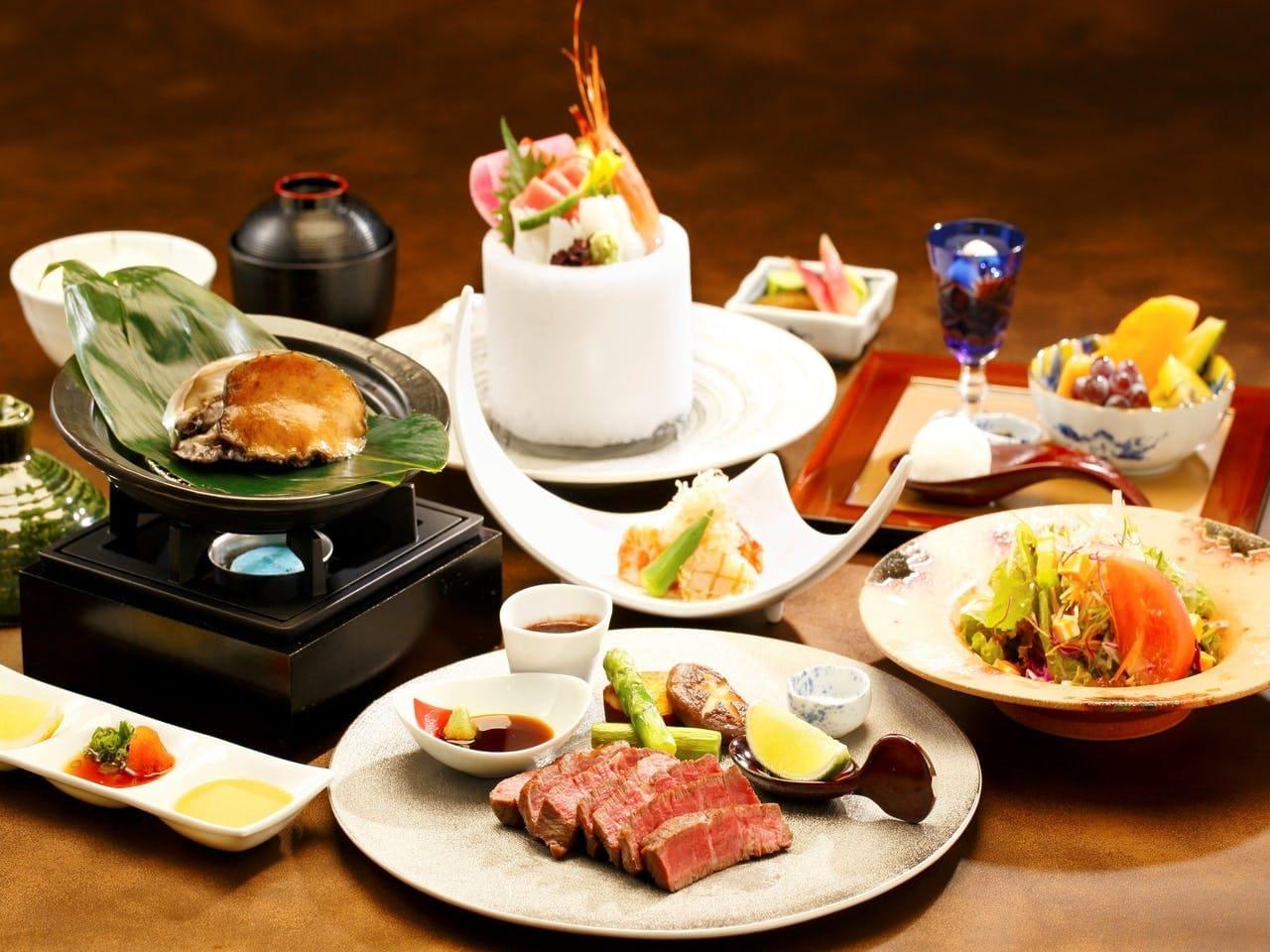 本格的な創作日本料理