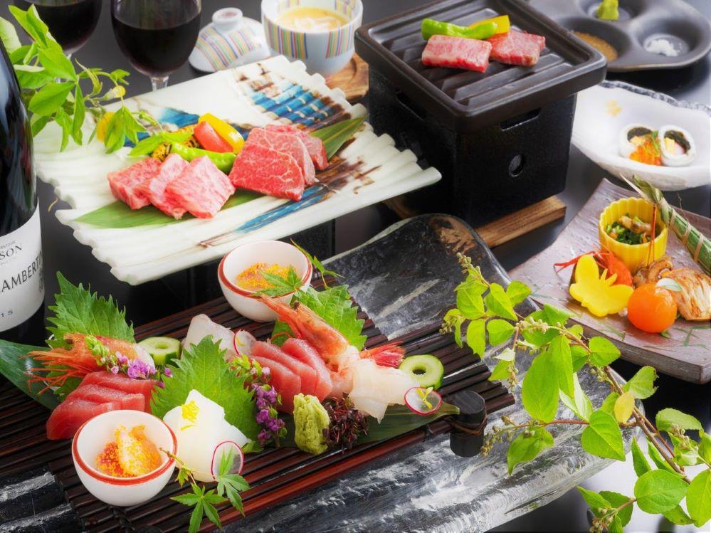 会席料理(お部屋食)