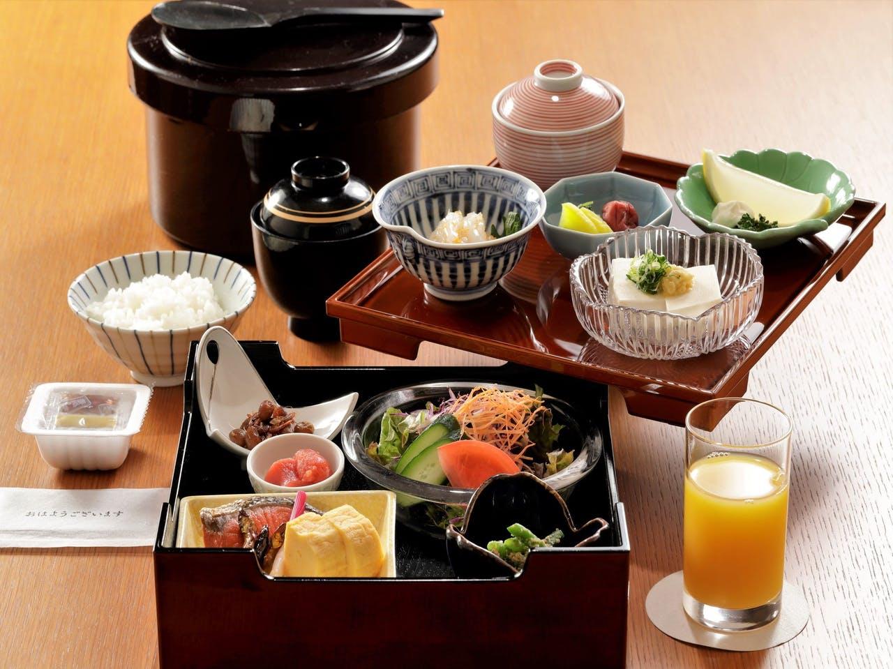 朝食(お部屋食)
