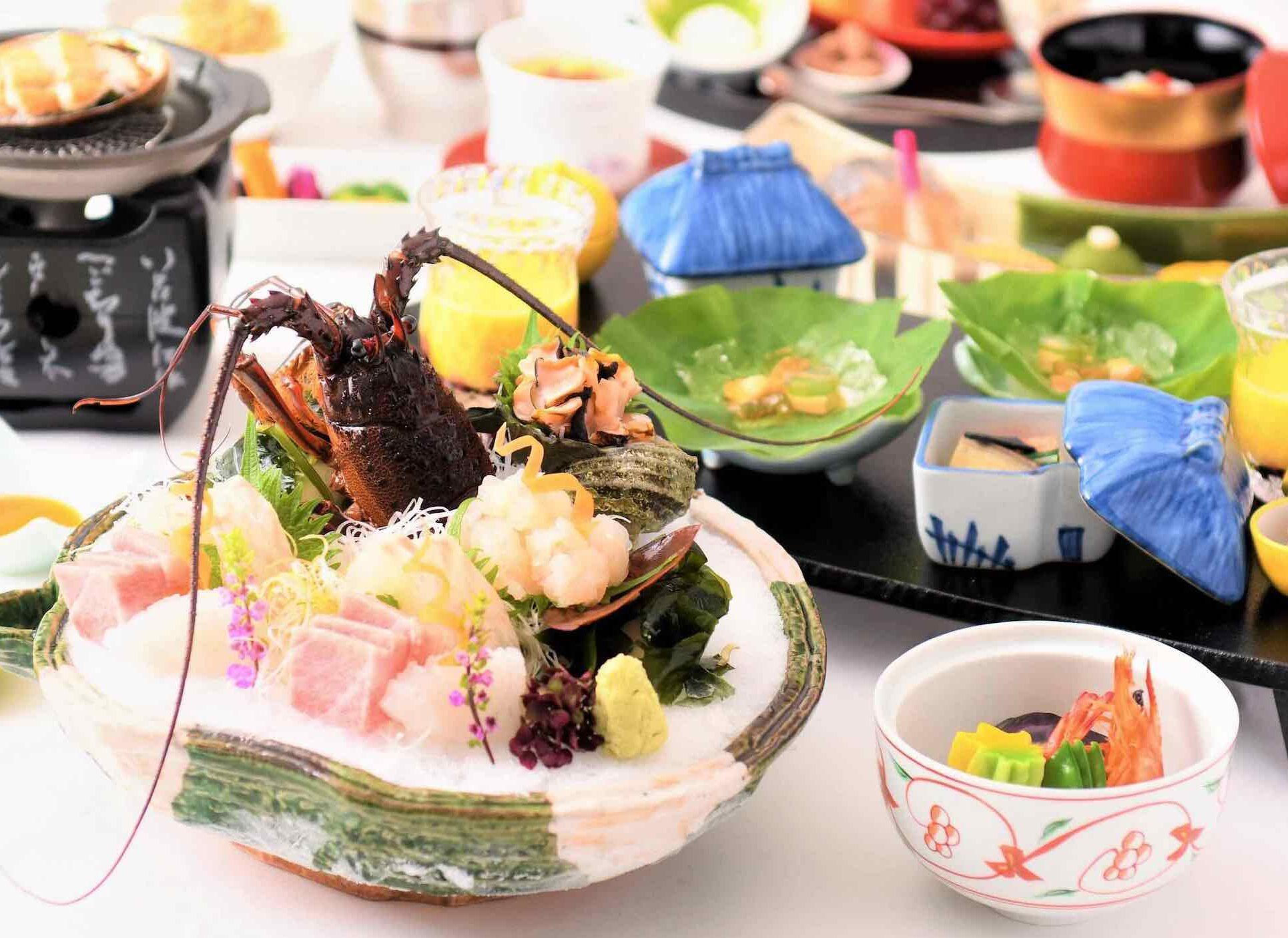 南房総の新鮮な魚介類や地元食材を堪能