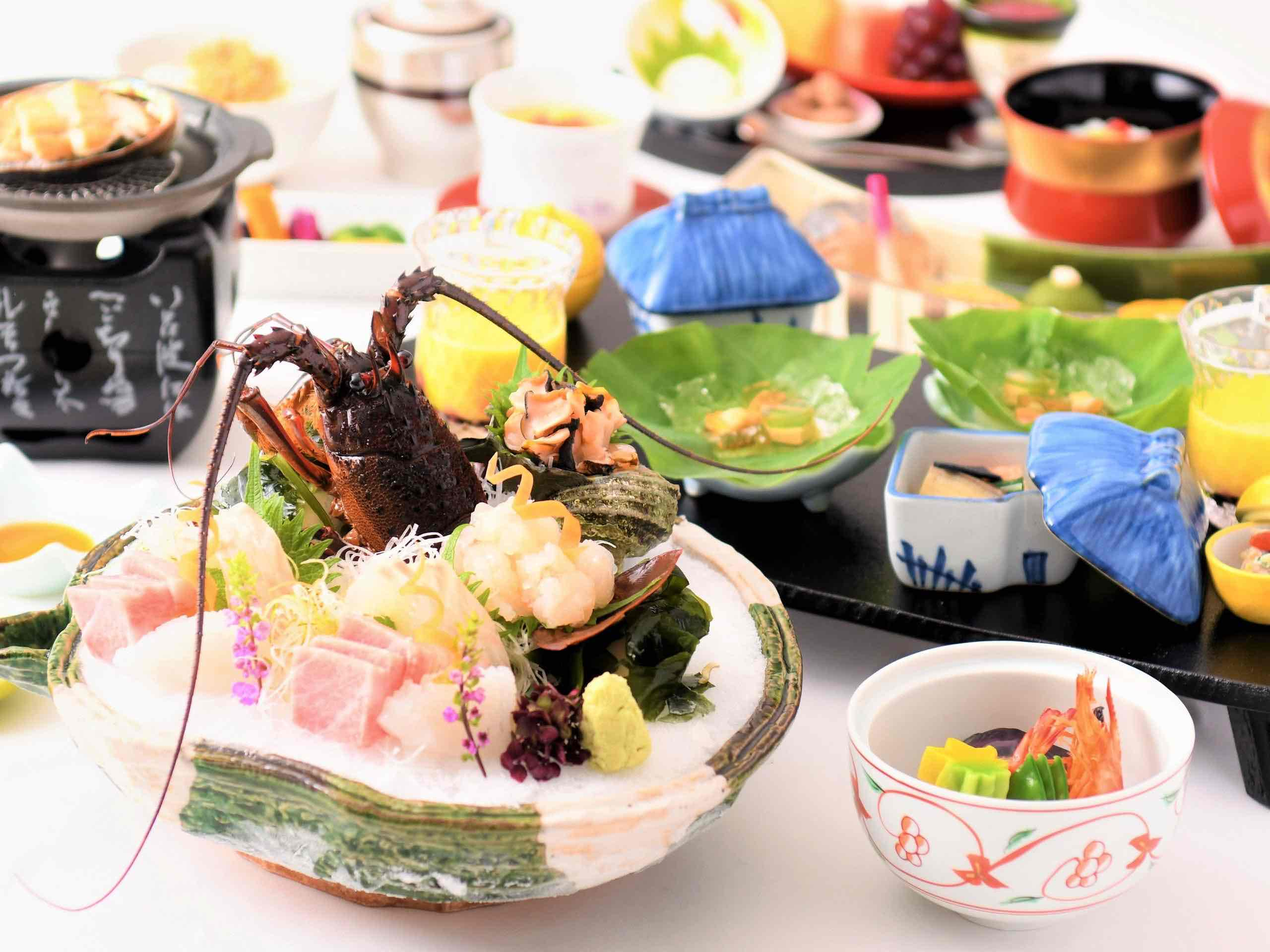 ご夕食(会席料理)