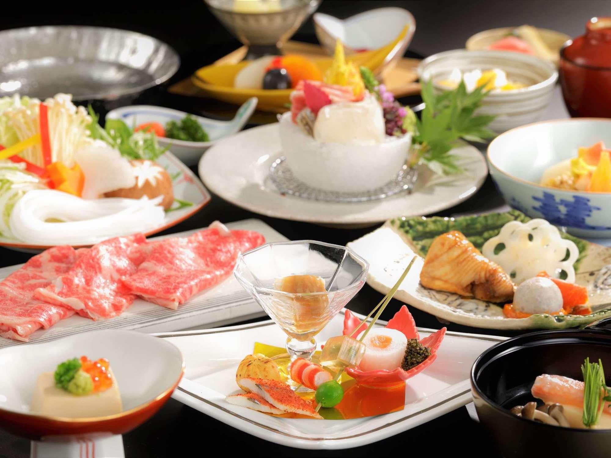 ご夕食(本格懐石料理)