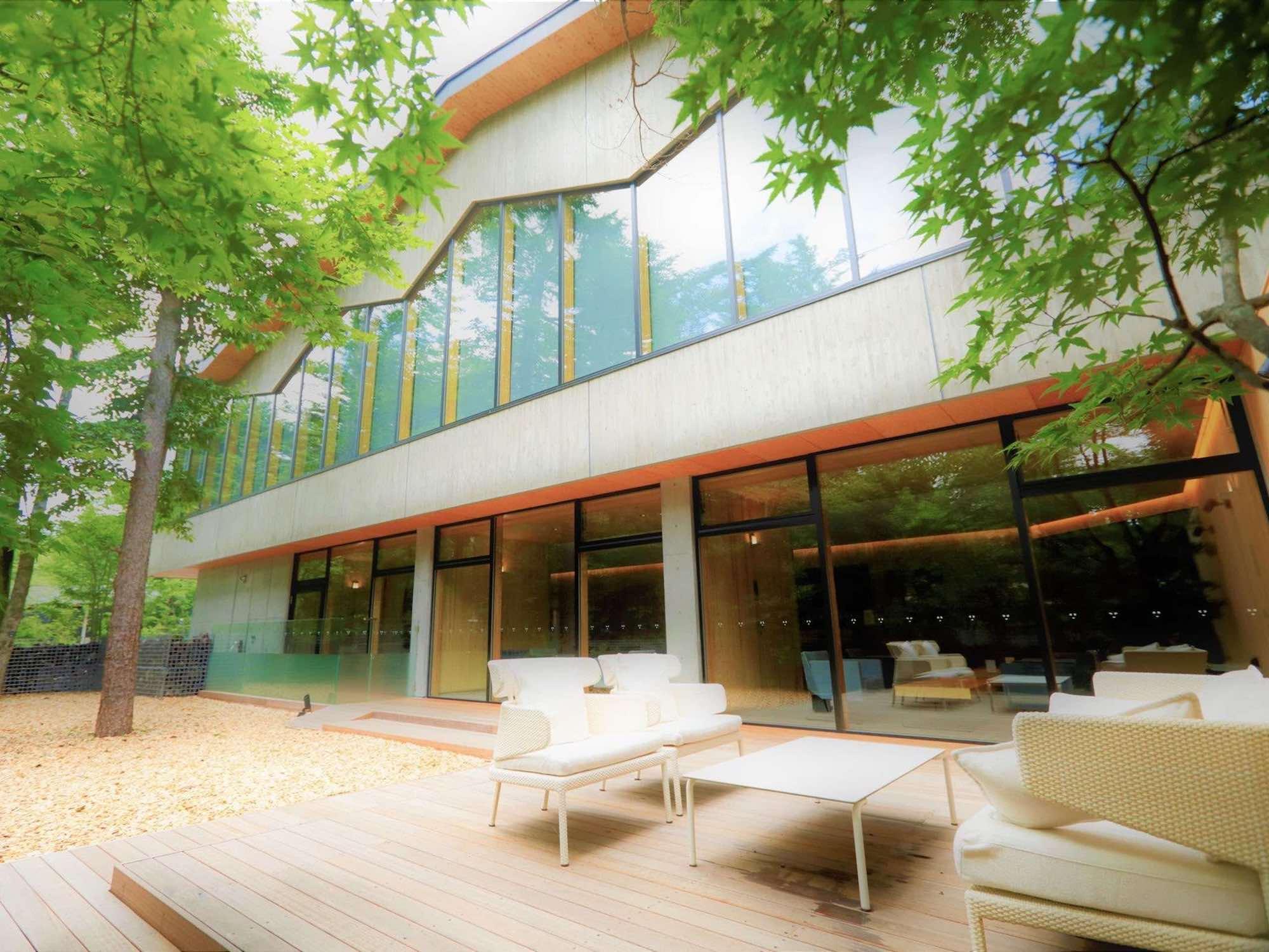 歴史、文化、自然が融合した旧軽井沢エリアの好立地