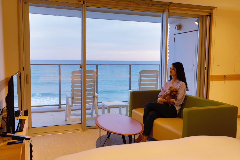 【素泊まりプラン】愛犬とゆっくり過ごすビーチリゾート/食事なし