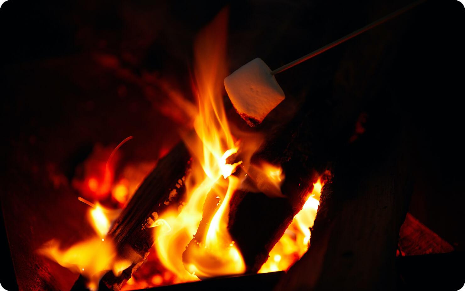 焚き火 de ヒュッゲ