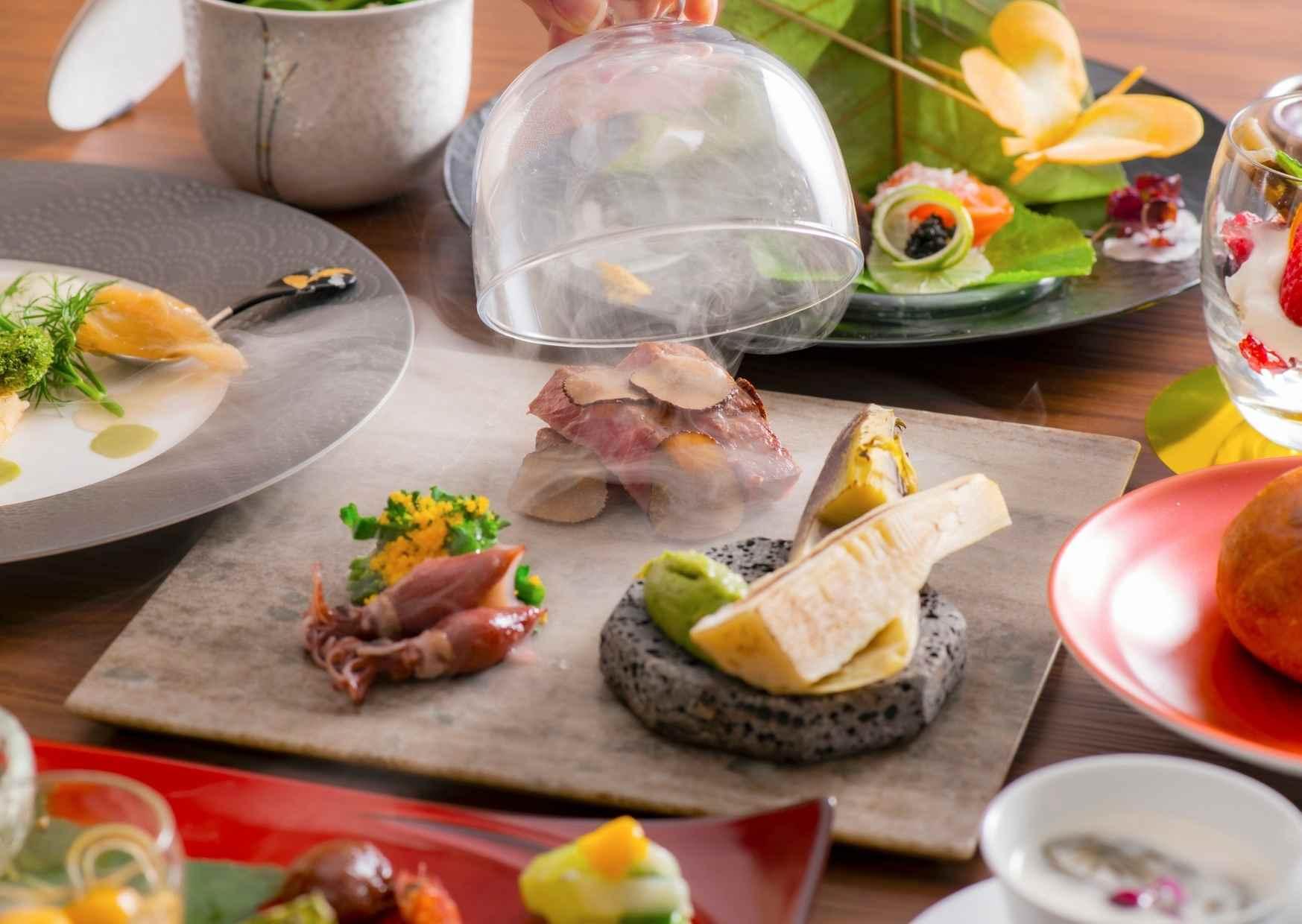 浜名湖・三ケ日の食材を使用した和食ディナー
