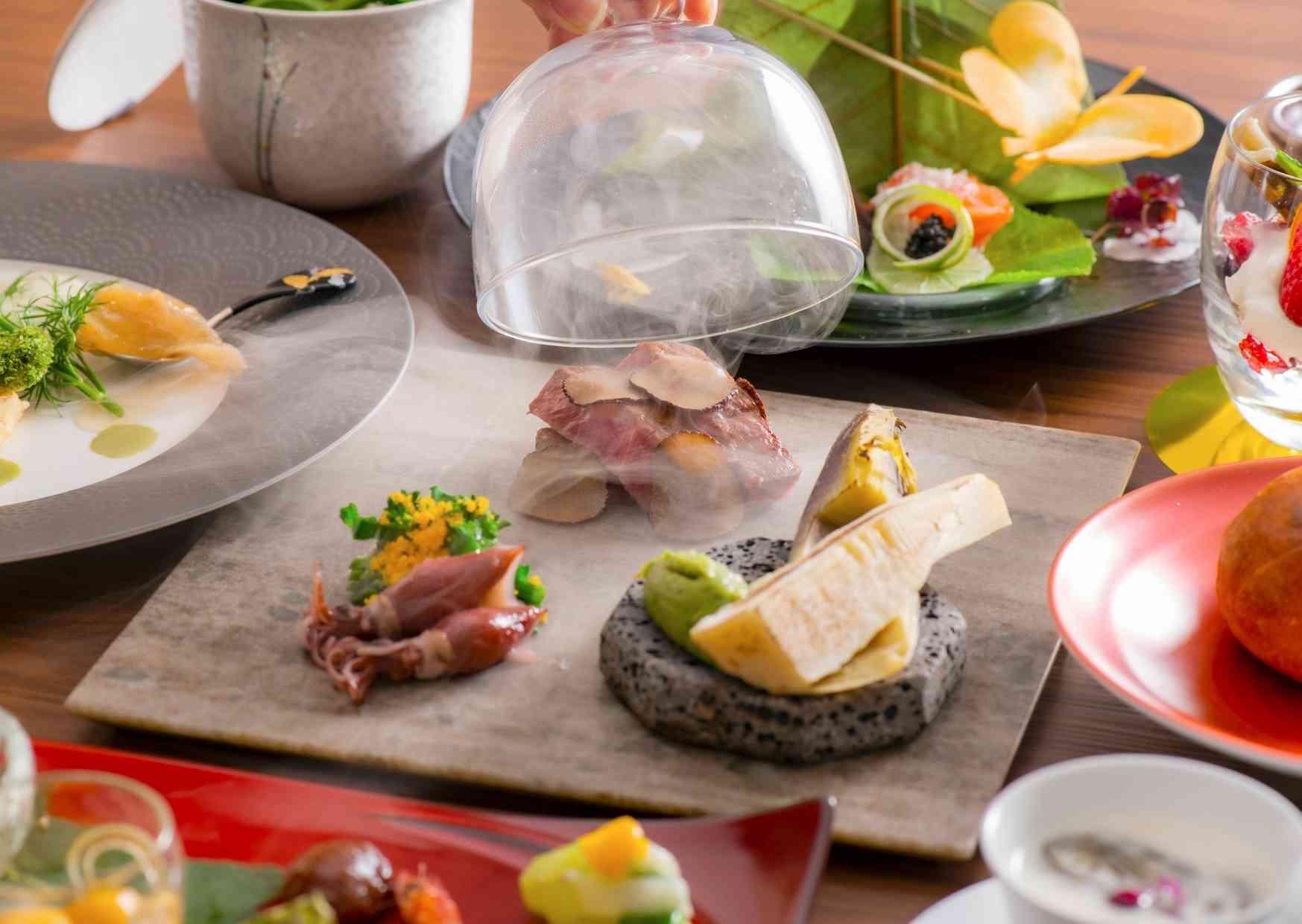 浜名湖・三ケ日の食材を使用した和食